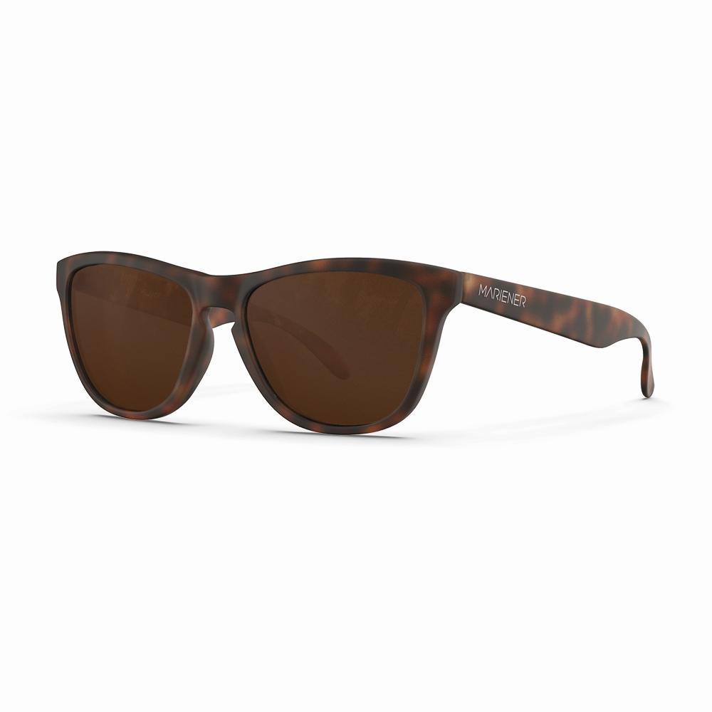 Mariener-Melange-Wayfarer-Rubber-Tortoise-Dark-Brown-Polarized-Wayfarer-Sunglasses-Gepolariseerde-Bruine-Zonnebril-Angle
