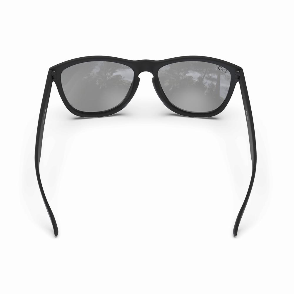 Mariener-Melange-Wayfarer-Rubber-Matte-Black-Dark-Silver-Wayfarer-Sunglasses-Zwarte-Zonnebril-Backside