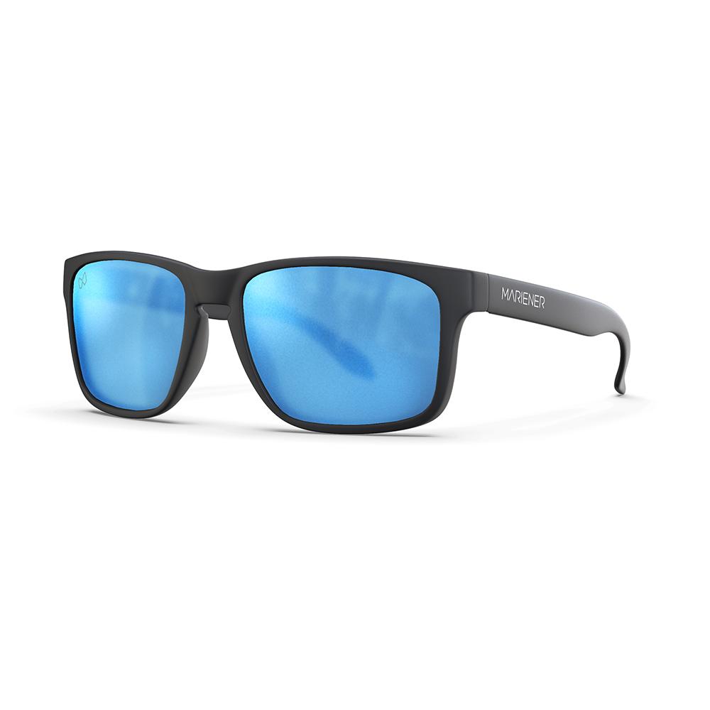 Mariener-Melange-Makan-Matte-Black-Matte-Reflective-Sky-Adult-Sunglasses-Zonnebril-Mat-Reflecterend-Volwassenen-Angle