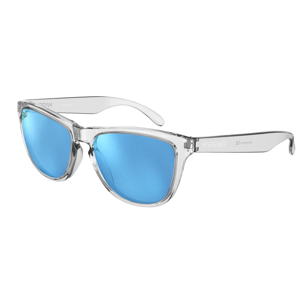 Mariener-Melange-Wayfarer-Clear-Matte-Reflective-Sky-Wayfarer-Sunglasses-Doorzichtig-Matte-Lens-Zonnebril-Angle