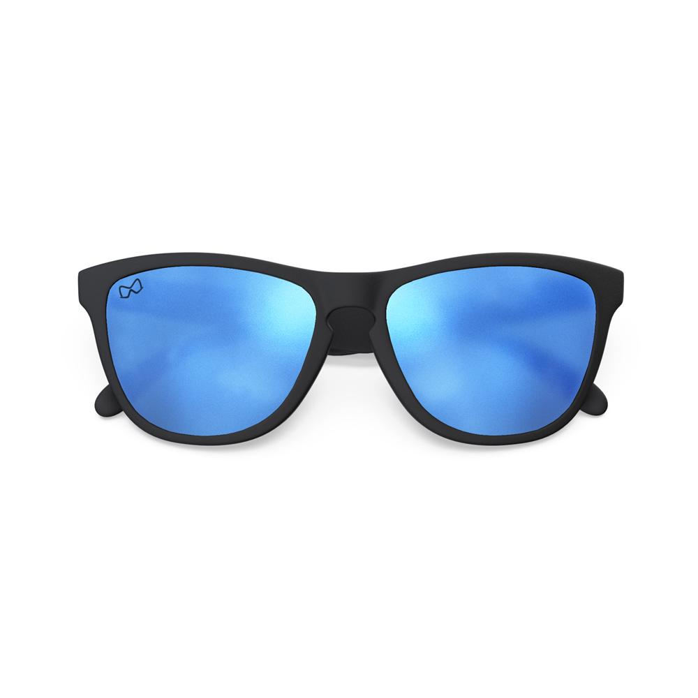 Mariener-Melange-Wayfarer-Rubber-Matte-Black-Matte-Reflective-Sky-Wayfarer-Sunglasses-Matte-Lens-Zonnebril-Overview