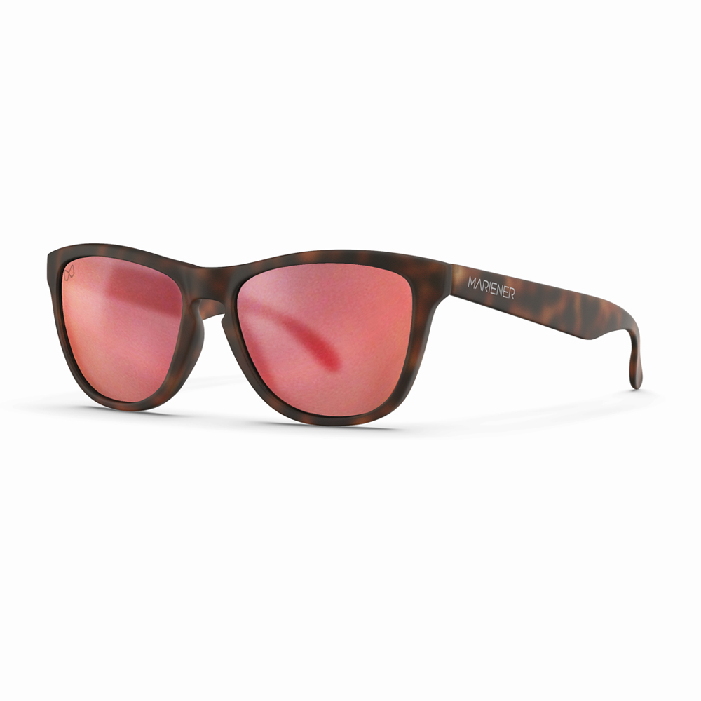 Mariener-Melange-Wayfarer-Rubber-Matte-Tortoise-Brown-Matte-Reflective-Red-Lava-Wayfarer-Sunglasses-Matte-Lens-Zonnebril-Angle