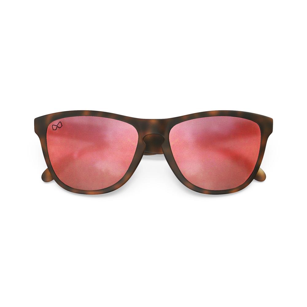 Mariener-Melange-Wayfarer-Rubber-Matte-Tortoise-Brown-Matte-Reflective-Red-Lava-Wayfarer-Sunglasses-Matte-Lens-Zonnebril-Overview