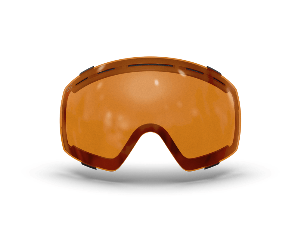 Mariener-Mountain-Orange-Bad-Weather-Low-Light-Spherical-Snow-Goggle-Lens-Ski-Snowboard-Bril-White-BG-Lens-Only