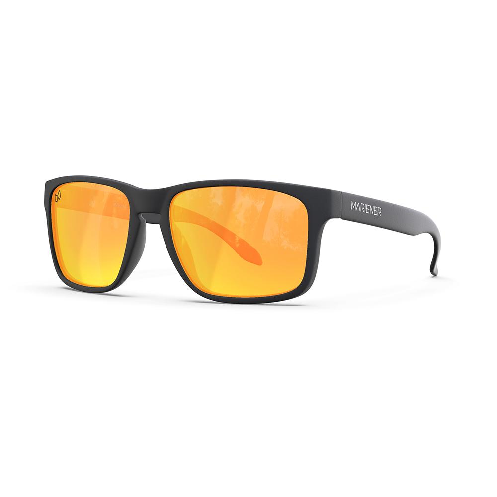 Mariener-Melange-Makan-Matte-Black-Rubber-Orange-Lava-Lens-Adult-Sunglasses-Zonnebril-Volwassenen-Angle
