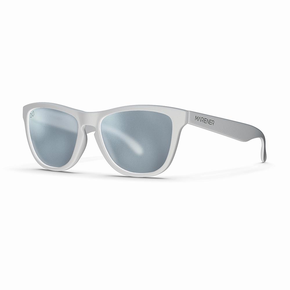 Mariener-Melange-Wayfarer-Matte-White-Rubber-Matte-Reflective-Dark-Silver-Wayfarer-Sunglasses-Matte-Lens-Zonnebril-Angle