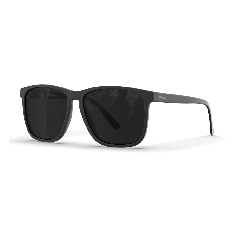 Mariener-Mellow-Rectangular-Matte-Black-Rubber-Spring-Hinge-Dark-Smoke-Polarized-Sunglasses-Gepolariseerde-Zwarte-Rechthoekige-Zonnebril-Angle