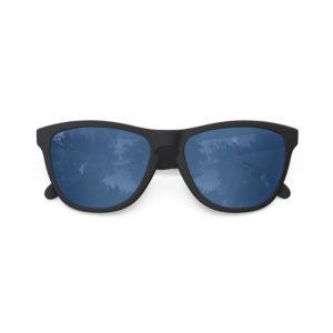 Melange – Matte Black Rubber | Azure Wayfarer Sunglasses