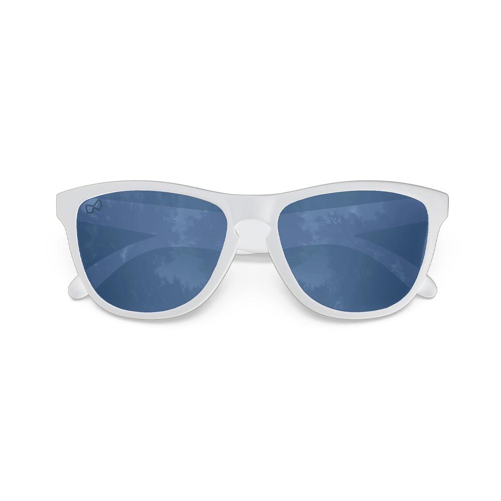 Mariener-Melange-Wayfarer-Matte-White-Rubber-Azure-Wayfarer-Sunglasses-Zonnebril-Folded